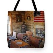 Old West School House Tote Bag