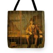 Old Western Jail Tote Bag
