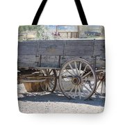 Old Western Wagon Tote Bag