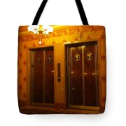 Old Westinghouse Elevators At The Brown Palace Hotel In Denver Tote Bag