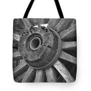 Old Wheel Tote Bag