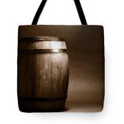 Old Whisky Barrel Tote Bag