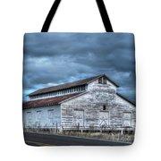 Old White Barn Tote Bag