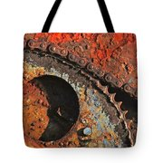 Old Winch Study Tote Bag