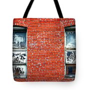 Old Windows Bricks Tote Bag