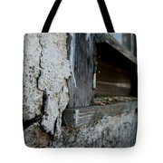 old windowsill cracked up Streetman Texas Tote Bag