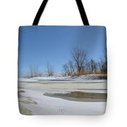 Old Woman Creek - Day After The Storm Tote Bag