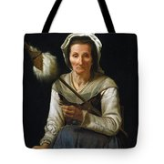 Old Woman Spinning, 1646-48 Tote Bag