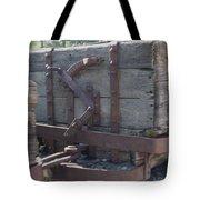 Old Wood  Mining Ore Car Tote Bag