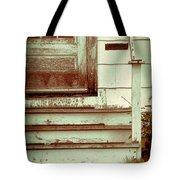 Old Wooden Porch Tote Bag