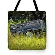 Old Wooden Wagon Tote Bag