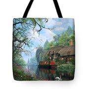 Old Woodland Cottage Tote Bag