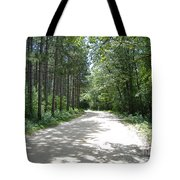 Old World Path Tote Bag