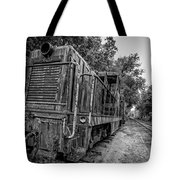 Old Yard Switcher Engine Valley Railroad Tote Bag