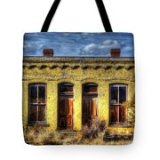Old Yellow House In Buena Vista Tote Bag