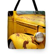 Old Yellow Truck Tote Bag