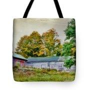 Olde Homestead On Rt 105 Tote Bag