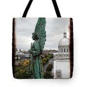 Olde Montreal Angel Tote Bag by Alice Gipson