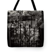 Olde Victorian Gate Leading To A Secret Garden - Peak District - England Tote Bag