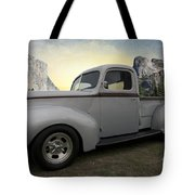 Older Classic Truck Tote Bag