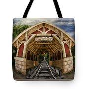 Oldest Steamtrain Station San Francisco Tote Bag