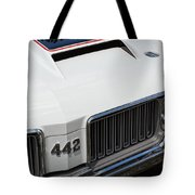 Olds Cutlass 4-4-2 Tote Bag