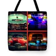 Oldtimer Collage Tote Bag