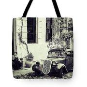 Oldtimer Ladies Retro Tote Bag