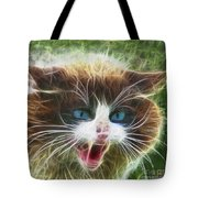 Ole Blue Eyes - Square Version Tote Bag