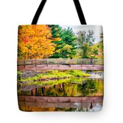 Ole Bull State Park Paint Tote Bag