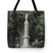 Ole Miss Confederate Statue Tote Bag