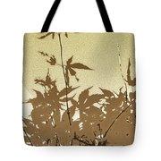 Olive And Brown Haiku Tote Bag