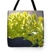 Olive Fluorescence Tote Bag
