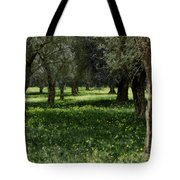 Olive Grove Color Italy Tote Bag