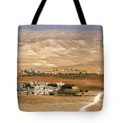 Olive Grove Near Hebron Tote Bag