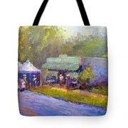 Olive Market Festival Tote Bag