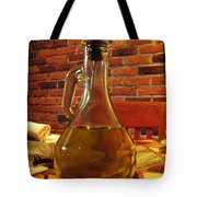 Olive Oil On Table Tote Bag