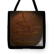 Olive Oil Painting Ampersand Tote Bag