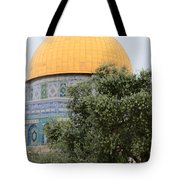 Olive Tree Dome Tote Bag