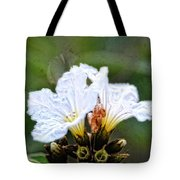 Olive You - Olive Flower Art By Sharon Cummings Tote Bag