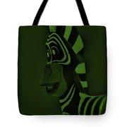 Olive Zebra Tote Bag