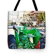 Oliver 60 Tractor In Dell Tote Bag