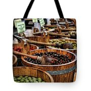 Olives Tote Bag by Heather Applegate