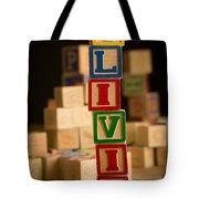 Olivia - Alphabet Blocks Tote Bag