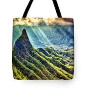 Olomana And The Koolau Range Tote Bag