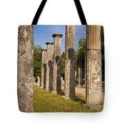 Olympia Ruins Tote Bag