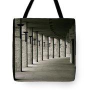 Olympiastadion Berlin Corridor Tote Bag
