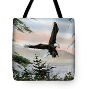 Olympic Coast Eagle Tote Bag