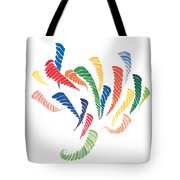 Olympic Fire Tote Bag