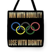 Olympic Spirit Tote Bag